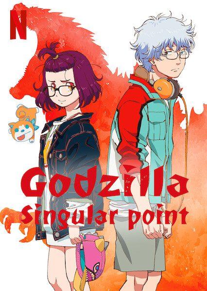 Godzilla Singular Point on Netflix