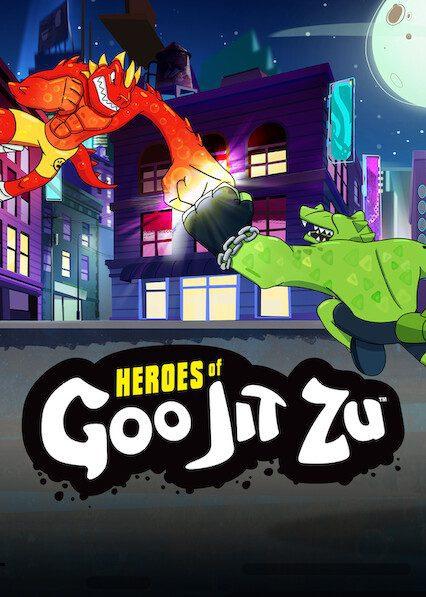 Heroes of Goo Jit Zu on Netflix