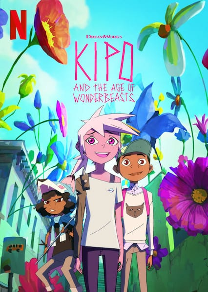 Kipo and the Age of the Wonderbeastson Netflix