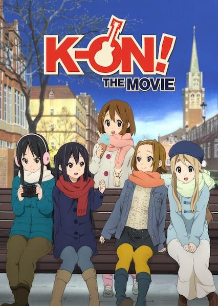 K-on! the movie on Netflix