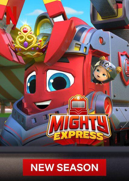 Mighty Express on Netflix