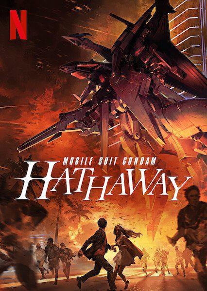 Mobile Suit Gundam Hathaway on Netflix
