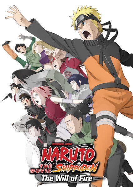 Naruto Shippûden the Movie: The Will of Fire on Netflix