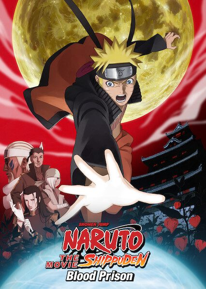 Naruto Shippuden the Movie: Blood Prison on Netflix