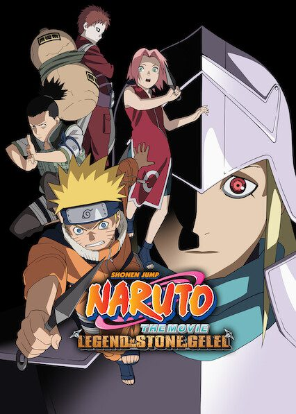 Naruto the Movie 2: Legend of the Stone of Gelel on Netflix