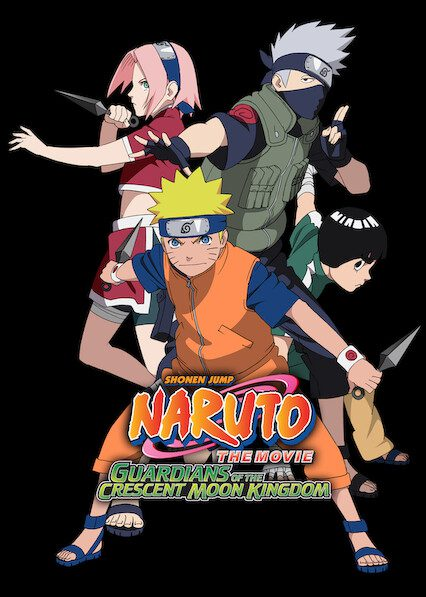 Naruto the Movie 3: Guardians of the Crescent Moon Kingdom on Netflix
