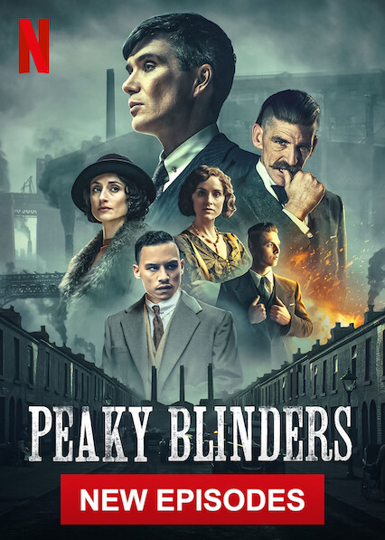 Peaky Blinderson Netflix