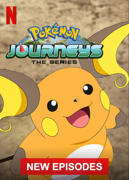 Pokemon: Journeyson Netflix