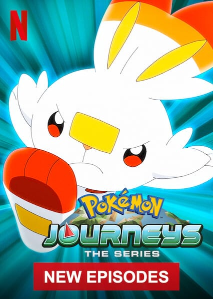 Pokémon Journeys: The Series on Netflix