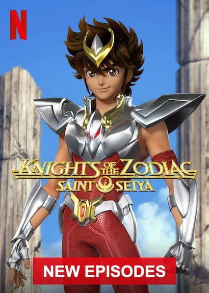 SAINT SEIYA: Knights of the Zodiac on Netflix