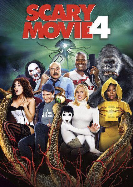 Scary Movie 4 on Netflix
