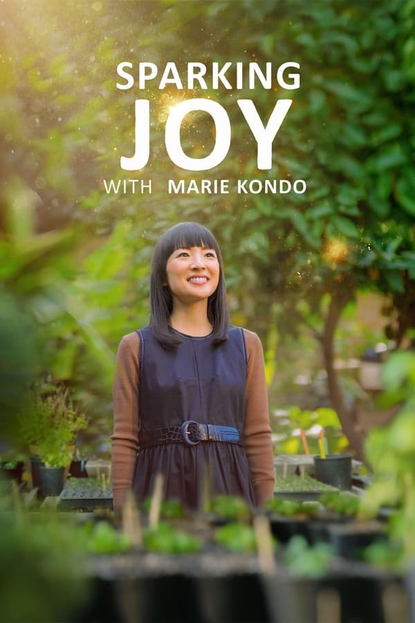 Sparking Joy with Marie Kondoon Netflix