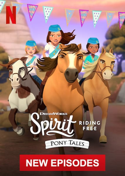 Spirit Riding Free: Pony Taleson Netflix