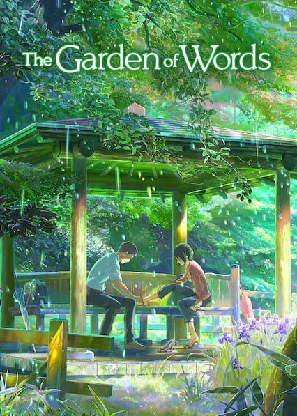The Garden of Words on Netflix