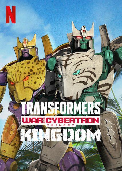 Transformers: War for Cybertron: Kingdom on Netflix